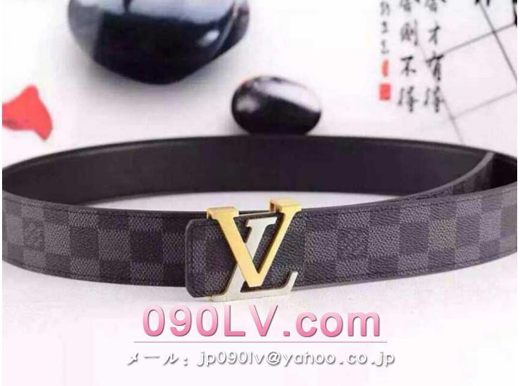 LV001 ルイヴィトンベルトスーパーコピー ルイヴィトンコピーベルト ダミエ・グラフィット ベルト