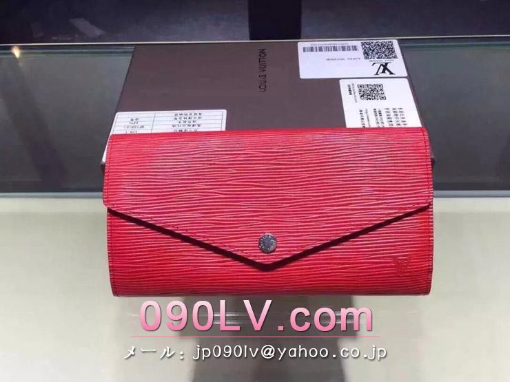 M60723 【人気商品】ルイヴィトン 長財布 エピ ポルトフォイユ・サラ LOUIS VUITTON 財布