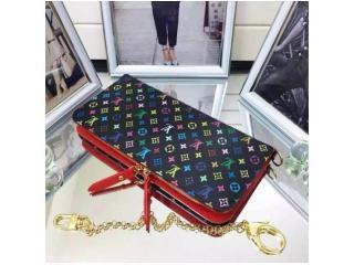 M60271 ルイヴィトン財布 スーパーコピーポルトフォイユアンソリット ルイヴィトン二つ折財布マルチカラー財布