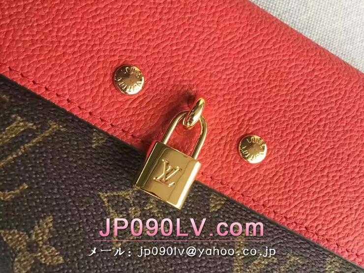M61836 ルイヴィトン モノグラム 財布 スーパーコピー「LOUIS VUITTON」ポルトフォイユ・ヴィーナス モノグラム x トリヨン 二つ折り長財布 スリーズ