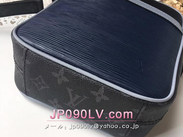 ルイヴィトン モノグラム バッグ スーパーコピー M53421 「LOUIS VUITTON」 ダヌーヴPM ショルダーバッグ・ポシェット ネイビー×ブラック エピ×モノグラム
