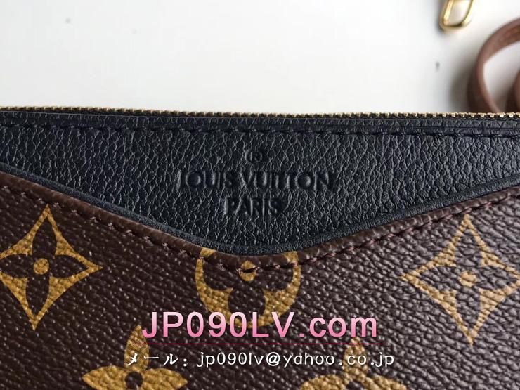 ルイヴィトン モノグラム パック スーパーコピー 「LOUIS VUITTON」 パラス・クラッチ チェーンショルダーパック M41639 ノワール