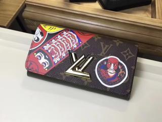 ルイヴィトン モノグラム 財布 コスーパーピー M67260 「LOUIS VUITTON」 ポルトフォイユ・ツイスト ヴィトン エピ レディース 二つ折り長財布