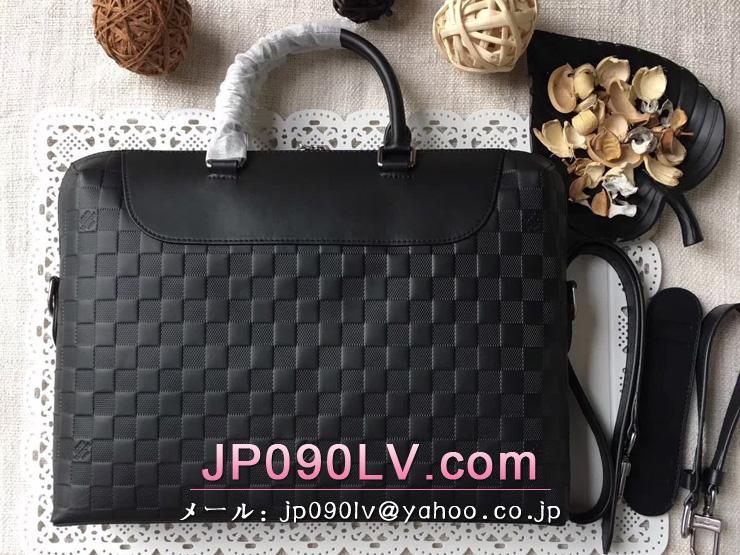ヴィトン ダミエ・アンフィニ バッグ スーパーコピー N48261 「LOUIS VUITTON」 PDJ NM ビジネス・パソコン ルイヴィトン メンズ ビジネスバッグ
