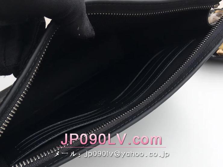 M61692 ルイヴィトン モノグラム・エクリプス バッグ コピー 「LOUIS VUITTON」 ポシェット・ヴォワヤージュ MM ヴィトン メンズ クラッチ&セカンドバッグ