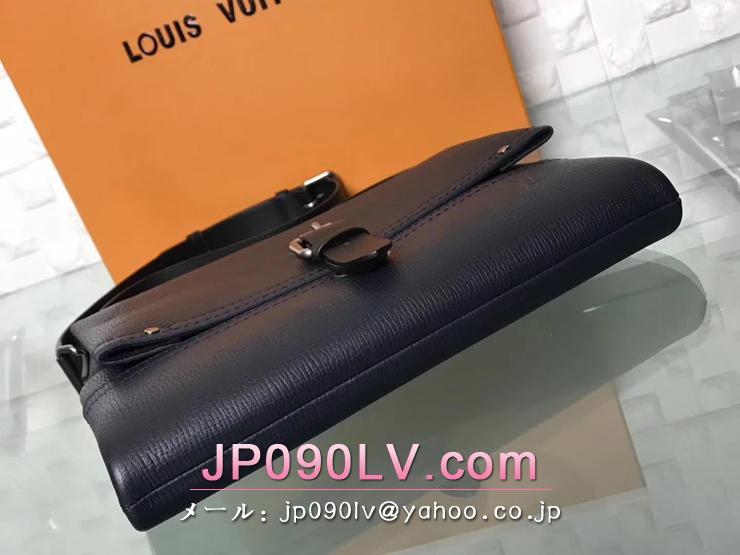 ルイヴィトン カーフ バッグ コピー M54963 「LOUIS VUITTON」 キャニオン・メッセンジャー PM ヴィトン 新作 メンズ チェーンショルダーバッグ 2色可選択 ブルーマリーヌ
