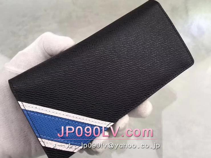 M64012 ルイヴィトン タイガ 長財布 スーパーコピー 「LOUIS VUITTON」 ポルトフォイユ・ブラザ タイガ ストライプ ヴィトン メンズ 二つ折り財布