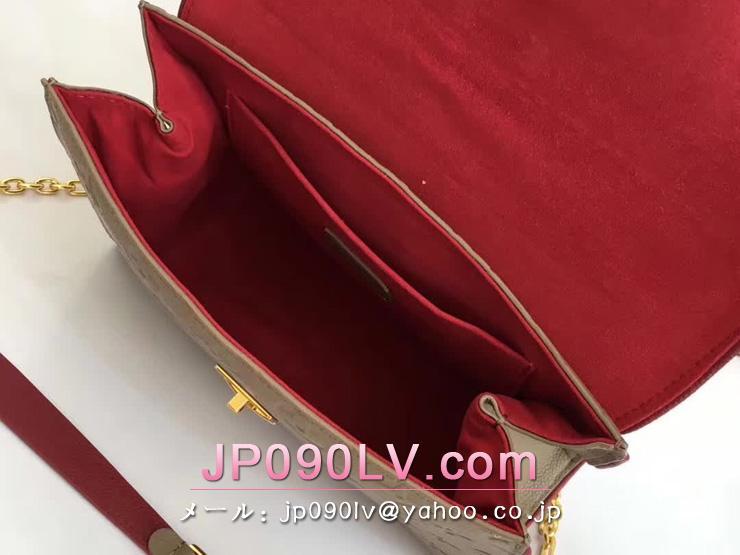 ルイヴィトン モノグラム・アンプラント バッグ スーパーコピー M43395 「LOUIS VUITTON」 サンシュルピス PM ヴィトン レディース チェーンショルダーバッグ 4色可選択 トープグラセ
