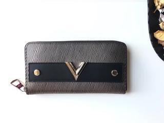ルイヴィトン エピ 長財布 コピー M62522 「LOUIS VUITTON」 ジッピー・ウォレット エセンシャルV ヴィトン レディース ラウンドファスナー財布
