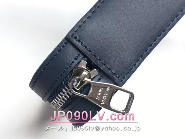 ルイヴィトン エピ 財布 スーパーコピー M64001 「LOUIS VUITTON」 ダンディ・ウォレット ヴィトン メンズ ラウンドファスナー財布 選べる2色 ブルーマリーヌ