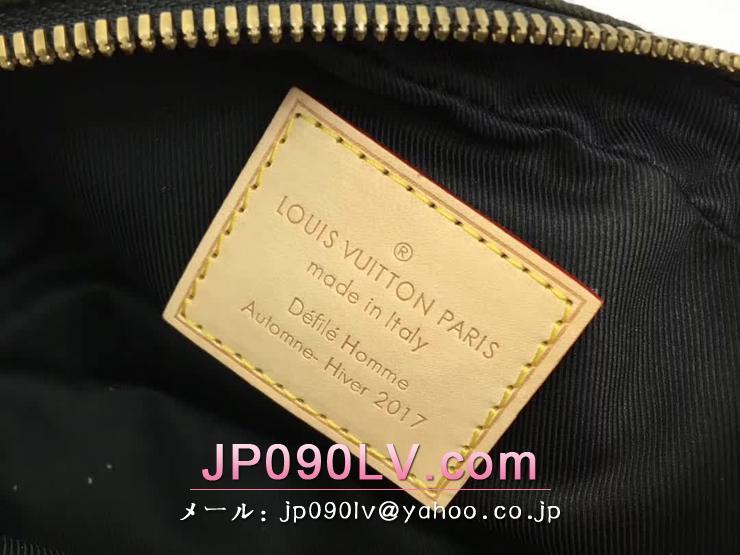 ルイ・ヴィトン シュプリーム バッグ スーパーコピー M44202 「LOUIS VUITTON×SUPREME」 コラボ モノグラム・カモフラージュ バムバッグPM ボディ バッグ 迷彩