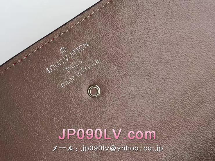 ルイヴィトン トリヨン 長財布 コピー M60157 「LOUIS VUITTON」 ポルトフォイユ・ヴィヴィエンヌ ヴィトン レディース 二つ折り財布 3色可選択 ローズリッチ