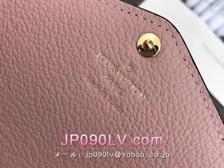 ルイヴィトン モノグラム・アンプラント 長財布 コピー M61291 「LOUIS VUITTON」 ポルトフォイユ・サラ ヴィトン レディース 二つ折り財布 2色可選択 ローズ・バレリーヌ