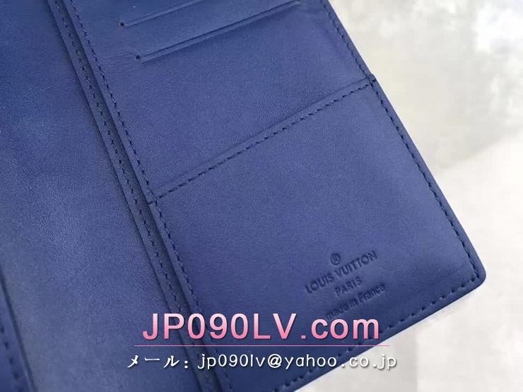 ルイヴィトン ダミエ・アンフィニ 長財布 コピー N63205 「LOUIS VUITTON」 ポルトフォイユ・ブラザ ヴィトン メンズ 二つ折り財布 ネプテューヌ