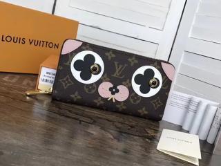 ルイヴィトン モノグラム 長財布 コピー M67246 「LOUIS VUITTON」 ジッピー・ウォレット ヴィトン レディース ラウンドファスナー財布
