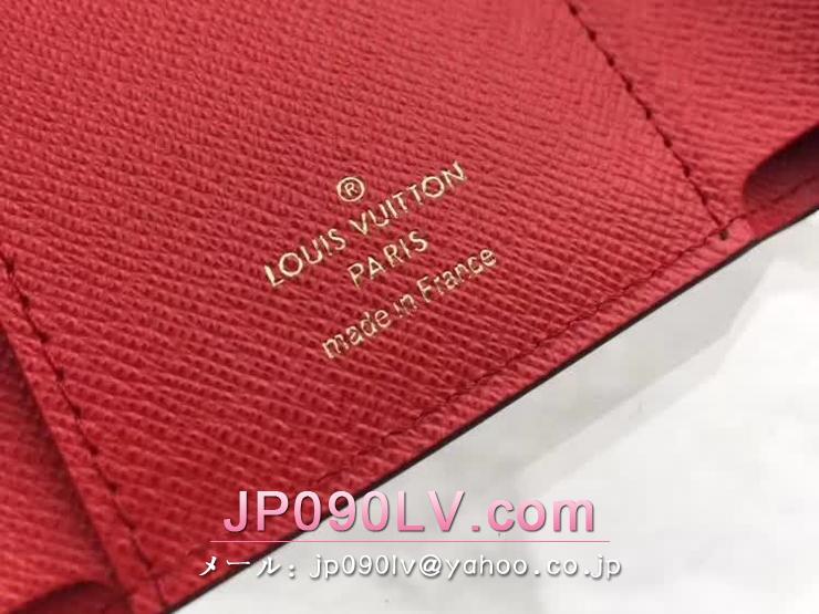 ルイヴィトン モノグラム 財布 スーパーコピー 「LOUIS VUITTON」 ポルトフォイユ・ヴィクトリーヌ ヴィトン レディース 二つ折り財布