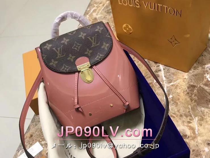 ルイヴィトン パテント バッグ スーパーコピー M53545 「LOUIS VUITTON」 ホットスプリング ヴィトン レディース バックパック 2色 ヴィユーローズ