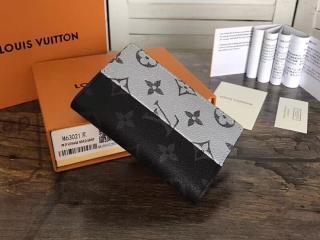 ルイヴィトン モノグラム・エクリプス 財布 コピー M63021 「LOUIS VUITON」 オーガナイザー・ドゥ ポッシュ ヴィトン メンズ 二つ折り財布