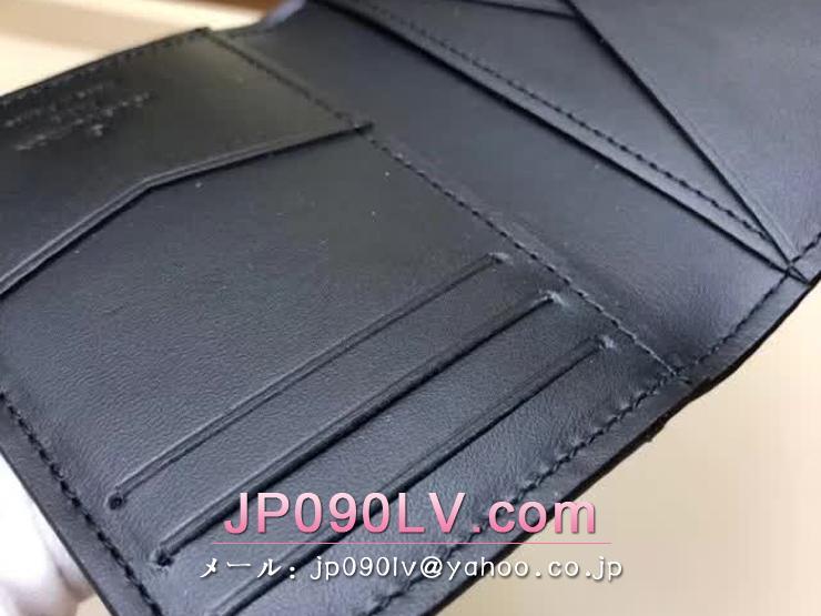 ルイヴィトン ダミエ・コバルト 財布 コピー N63508 「LOUIS VUITTON」 オーガナイザー・ドゥ ポッシュ ヴィトン メンズ 二つ折り財布