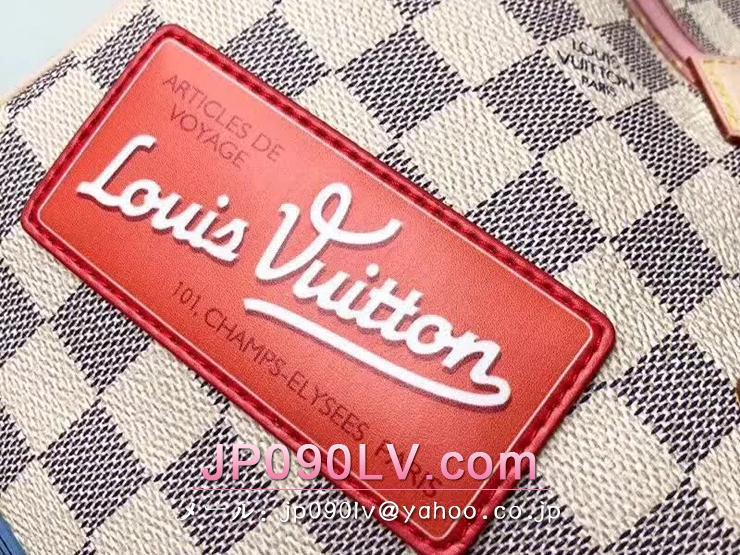 ルイヴィトン ダミエ・アズール バッグ スーパーコピー N41063 「LOUIS VUITTON」 スピーディ 30 ハンドバッグ ヴィトン レディース ショルダーバッグ