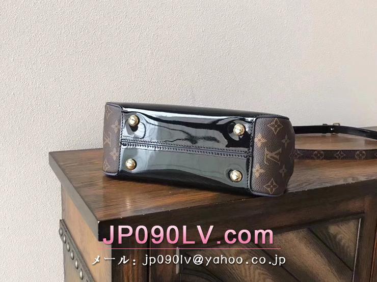 ルイヴィトン パテント バッグ スーパーコピー M53353 「LOUIS VUITTON」 チェリーウッド ハンドバッグ ヴィトン レディース ショルダーバッグ 3色選択可 ノワール