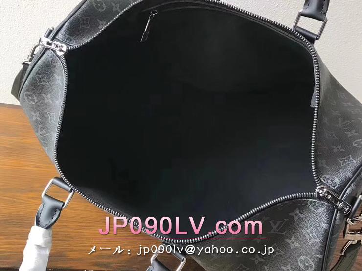 ルイヴィトン モノグラム・エクリプス バッグ スーパーコピー M43683 「LOUIS VUITTON」 キーポル・バンドリエール 50 ボストンバッグ
