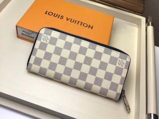 ルイヴィトン ダミエ・アズール 長財布 コピー N62632 「LOUIS VUITTON」 ジッピー・ウォレット ヴェルティカル ヴィトン メンズ ラウンドファスナー財布