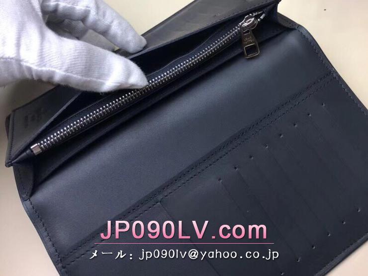 ルイヴィトン ダミエ・アズール 長財布 スーパーコピー N63506 「LOUIS VUITTON」 ポルトフォイユ・ブラザ ヴィトン メンズ 二つ折り財布