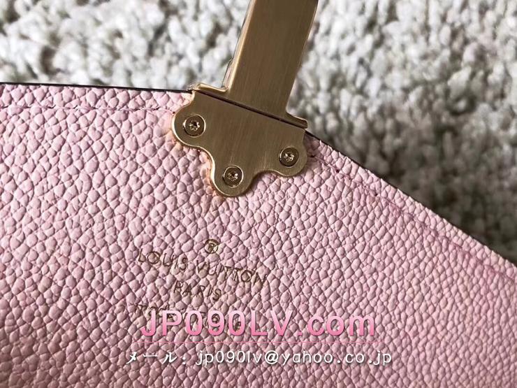 ルイヴィトン ダミエ・エベヌ 長財布 コピー N64447 「LOUIS VUITTON」 ポルトフォイユ・クラプトン ヴィトン レディース 二つ折り財布 3色選択可 マグノリア