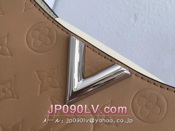 ルイヴィトン バッグ スーパーコピー M53347 「LOUIS VUITTON」 ヴェリー・ホーボー ヴィトン レディース ショルダーバッグ 2色可選択 セサミ・クリーム