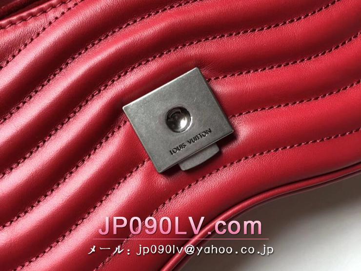 ルイヴィトン バッグ コピー M51930 「LOUIS VUITTON」 チェーンバッグ PM ヴィトン レディース ショルダーバッグ ニューウェーブ・レザー 4色可選択 レッド