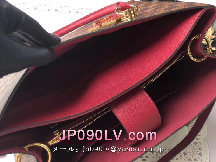 ルイヴィトン ダミエ・エベヌ バッグ コピー N40052 「LOUIS VUITTON」 LVリバーサイド ハンドバッグ レディース ショルダーバッグ 2色可選択 リドゥヴァン