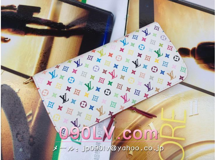 ルイヴィトン財布 コピー M60445 ポルトフォイユ・アンソリット-モノグラム・マルチカラー 財布&小物