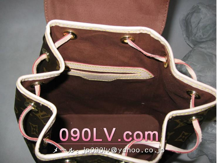 ルイヴィトンバッグ スーパーコピー M51136 モノグラムモンスリMMリュックサック レディース