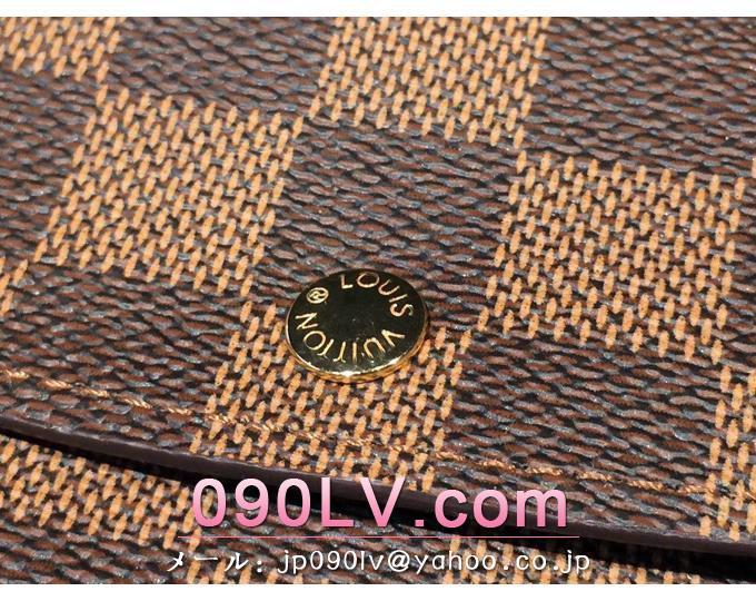 ルイヴィトン財布コピー ポルトフォイユ・エミリー モノグラム長財布 M60138