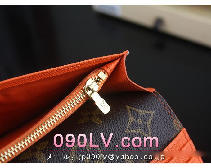 N63155 ルイヴィトン財布 コピー メンズコレクション ヴィトン ダミエ ブラザ 長財布 オランジュ 財布&小物