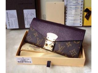 M58413 ルイヴィトン財布 スーパーコピー 偽ルイヴィトン2015新作財布 ポルトフォイユ・パラス フラップ開閉式財布 財布&小物
