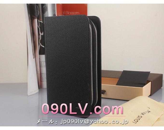 ルイヴィトン2015年新作コピー タイガ N63070 ルイヴィトンラウンドファスナー財布 クラッチバッグ