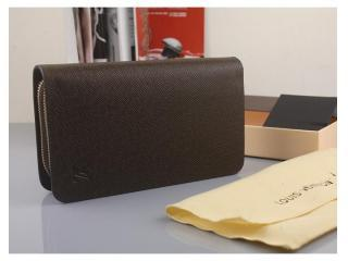 N63070B 茶褐色 ルイヴィトン財布 コピー ルイヴィトンタイガ クラッチバッグ ラウンドファスナー長財布 財布&小物