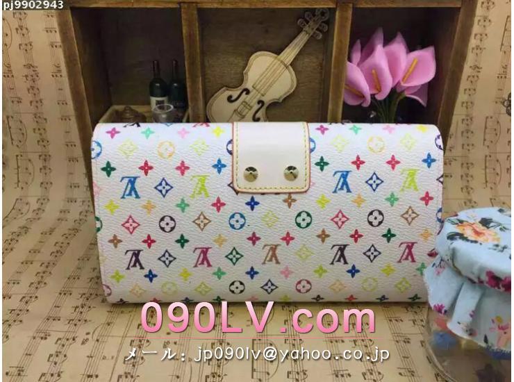 M66678 ルイヴィトン財布スーパーコピー ルイヴィトン・マルチカラー財布 二つ折財布財布人気ランキング 財布&小物