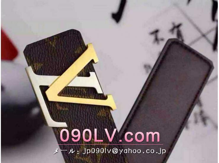 LV002 ルイヴィトンベルトコピー ルイヴィトンブランドベルトコピー モノグラムベルト サンチュール・イニシャル