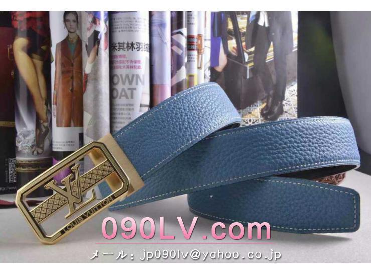 LV006 ルイヴィトンベルトコピー ルイヴィトンブランドベルトコピー 金色のベルトヘッド