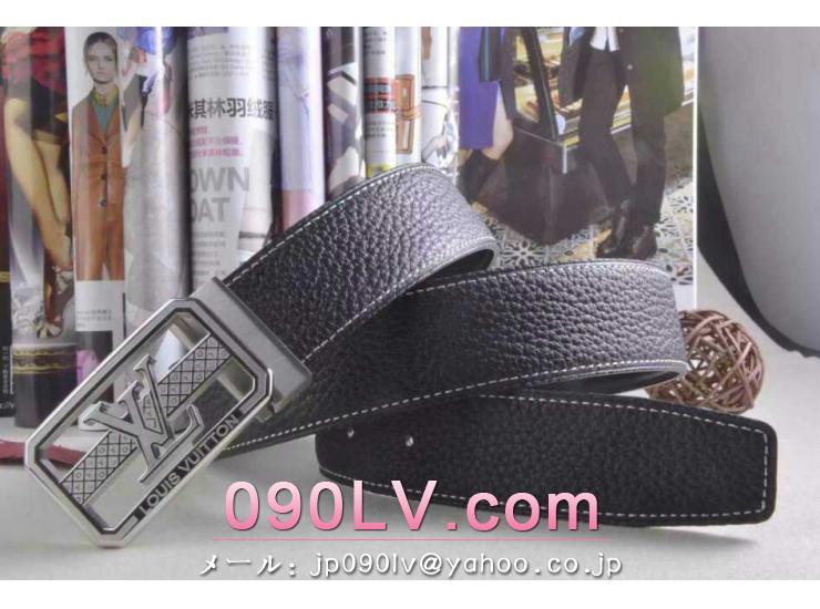 LV007 ルイヴィトンベルトスーパーコピー 銀色のベルトヘッド