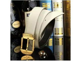LV016白色 ルイヴィトンベルトコピー 牛革金色のベルトヘッド