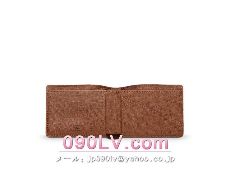 二つ折財布LOUIS VUITTON ポルトフォイユ・ミュルティプル モノグラム 財布&小物 M60895