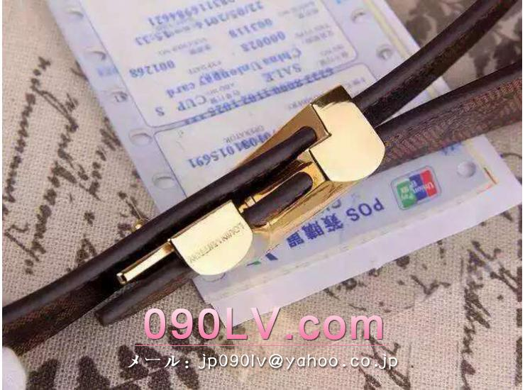 ルイヴィトン・モノグラムV字型ベルト M9017