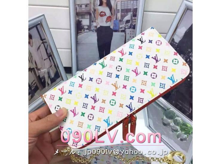 M60270 ルイヴィトン・マルチカラー財布 ポルトフォイユアンソリット ルイヴィトンモノグラム人気財布