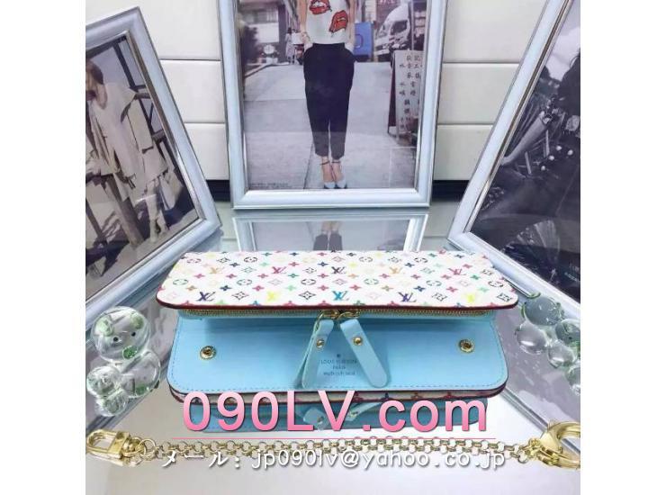 ルイヴィトン二つ折財布 スーパーコピー ポルトフォイユアンソリット財布 M60271淡い青色