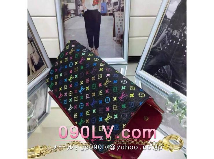 M93754 ルイヴィトン人気財布ポルトフォイユアンソリット ルイヴィトンマルチカラー二つ折財布