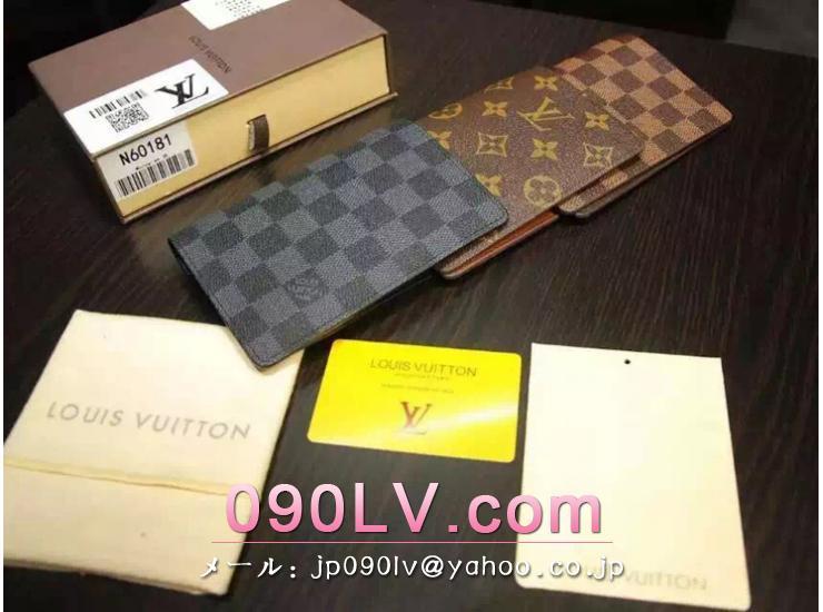 N60031 ルイヴィトンクーヴェルテュールパスポール N級品ダミエグラフィット キャンバスのパスポートカバー
